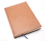 Leather bound book Royalty Free Stock Image