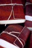 Leather Bound Books Stock Images
