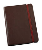 Leather bound journal Royalty Free Stock Photography