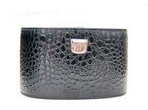 Leather box Stock Images