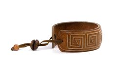Leather bracelet Royalty Free Stock Photos