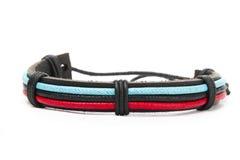 Leather bracelet Royalty Free Stock Image