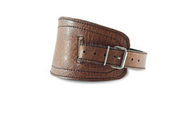 LEATHER BRACELET. Stock Images