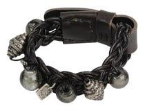 Leather bracelet Stock Photo