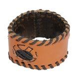 Leather bracelet Royalty Free Stock Photos
