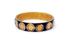 Leather bracelet Royalty Free Stock Photo