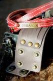 Leather Bracelets Royalty Free Stock Photo