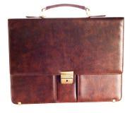 Leather Brief Case Stock Photo