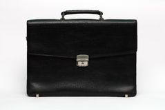 Leather briefcase Stock Photos