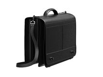 Leather briefcase Stock Photography