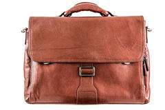 Leather briefcase Royalty Free Stock Image