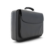 Leather briefcase for documents Royalty Free Stock Images