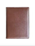 Leather brown book cover Royalty Free Stock Photos
