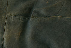 Leather. Brown natural leather for background Royalty Free Stock Image