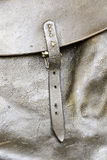 Leather Buckle a bag Stock Images