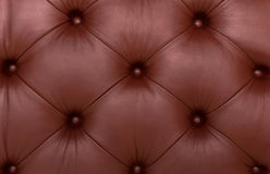 Leather with buttons Royalty Free Stock Photo