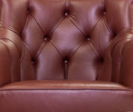 Leather with buttons Royalty Free Stock Image