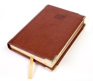 Leather calendar notebooks Royalty Free Stock Images