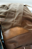 Leather and canvas Royalty Free Stock Image