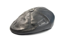 Leather cap Stock Photo