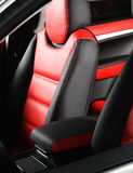 Leather car seat Royalty Free Stock Images