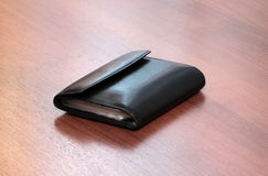 Leather cards holder Royalty Free Stock Photography