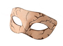 Leather Carnival half mask at Steampunk style Royalty Free Stock Photos