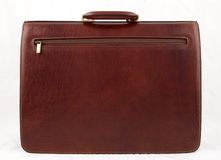 Leather case. Business case made of fine leather Royalty Free Stock Images