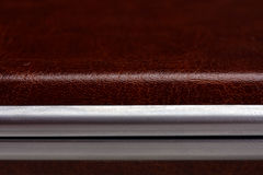 Leather case Stock Photo
