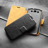 Leather cases Stock Images