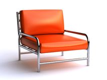 Leather chair Stock Photo