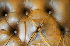 Leather chair to be renovated Royalty Free Stock Photo