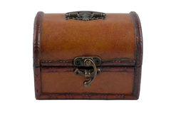 Leather chest Royalty Free Stock Image