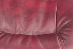 Leather of claret color as a background Stock Photo