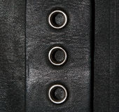 Leather clinches background Royalty Free Stock Images