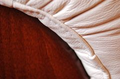 Leather closeup Royalty Free Stock Image