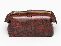 Leather clutch  Stock Images