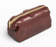 Leather clutch  Royalty Free Stock Image