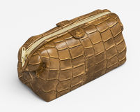 Leather clutch Stock Photography