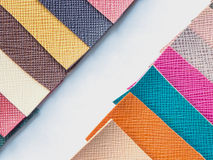Leather color swatch Stock Images
