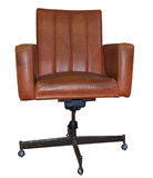 Leather Computer Chair Stock Photography