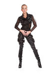 Leather costume Royalty Free Stock Photo