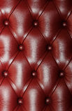 Leather couch. Shiny luxury leather couch texture Stock Photo