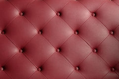 Leather couch texture Stock Photos