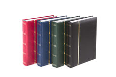 Leather cover book Stock Images