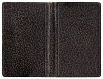 Leather cover - brown Royalty Free Stock Images