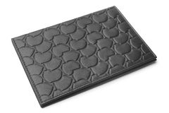 Leather cover for passport Stock Photos