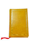 Leather Covered Old Book Royalty Free Stock Photos