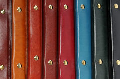 Leather covers Royalty Free Stock Photography