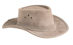Leather Cowboy hat Stock Photos